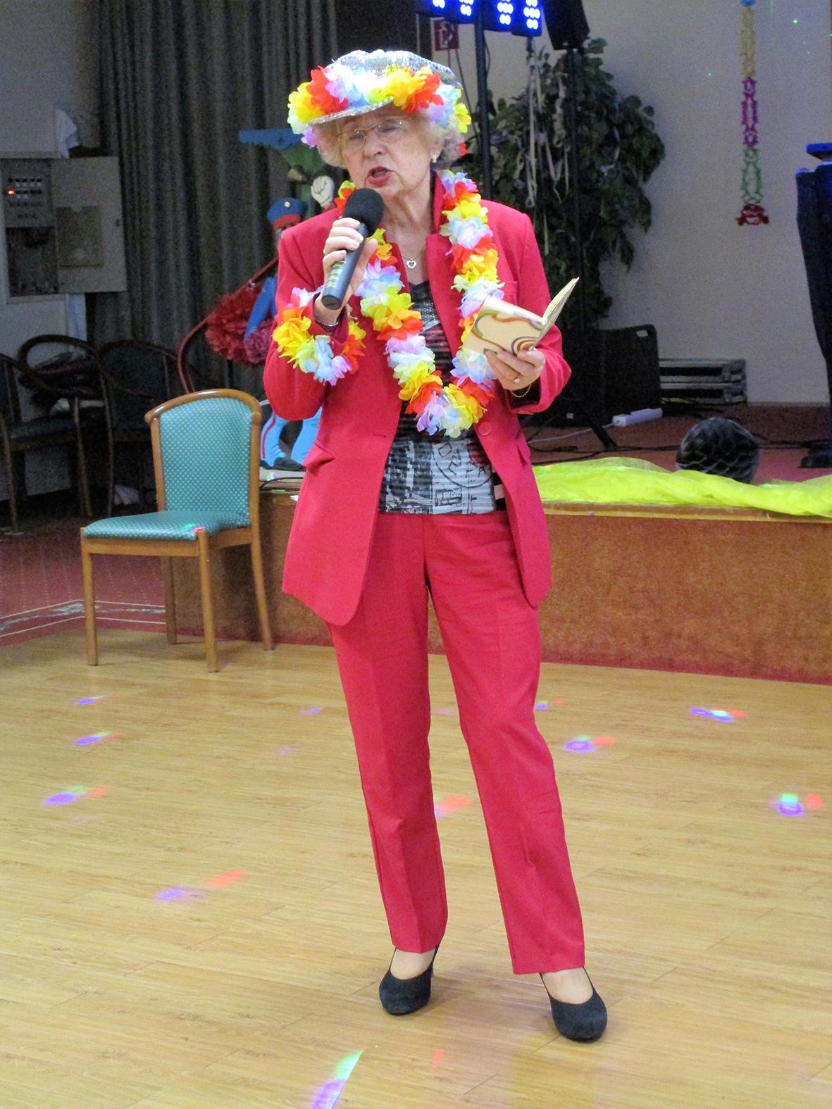 Karnevalsfeier des Vereins Sport mit Senioren